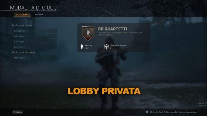 Warzone Come Creare Party Privato Battle Royale Malloppo Cod Modern Warfare