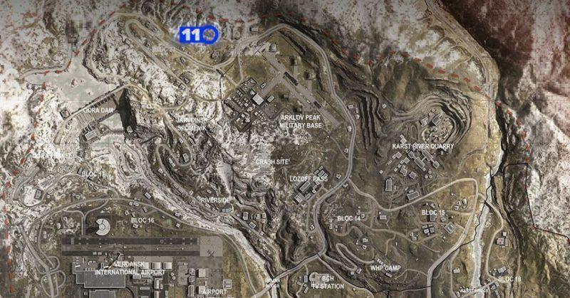 Warzone Mappa Bunker 11