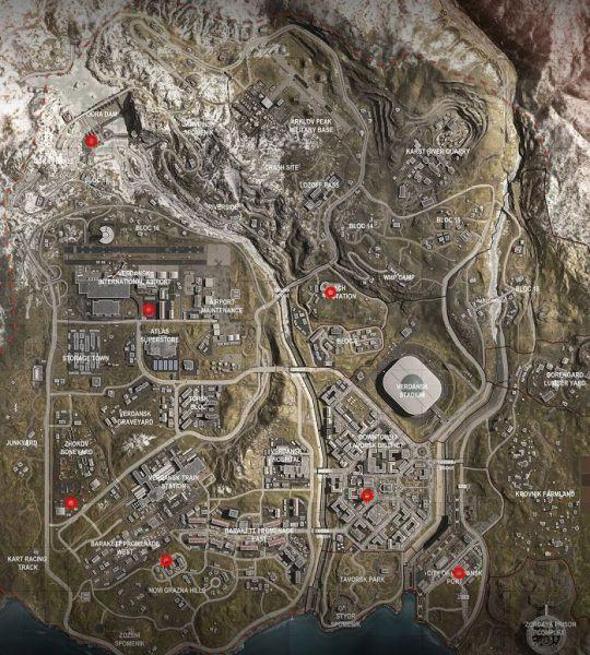 Warzone Mappa Telefoni Codice Russo Bunker 11