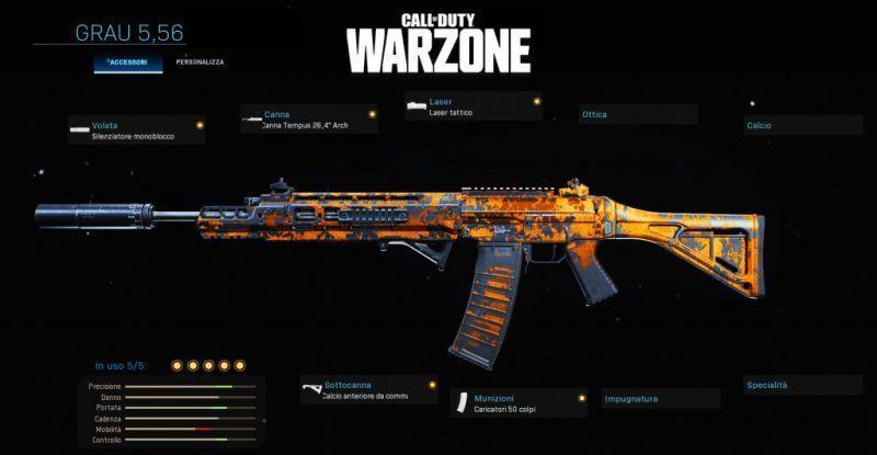 Warzone Miglior Setup Grau 5,56 Battle Royale