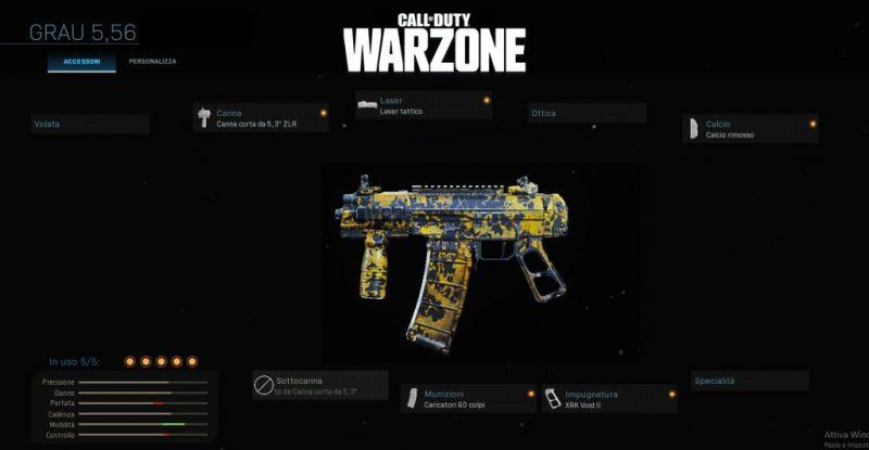 Warzone Miglior Setup Grau 5,56 Multiplayer
