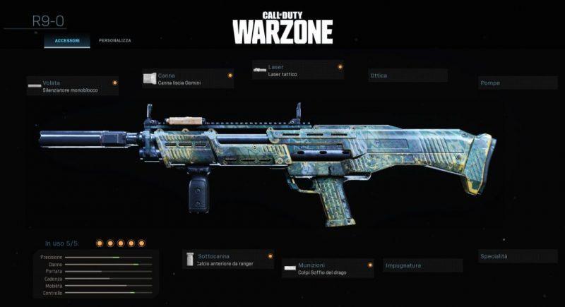Warzone Miglior Setup R9-0 Battle Royale Cod