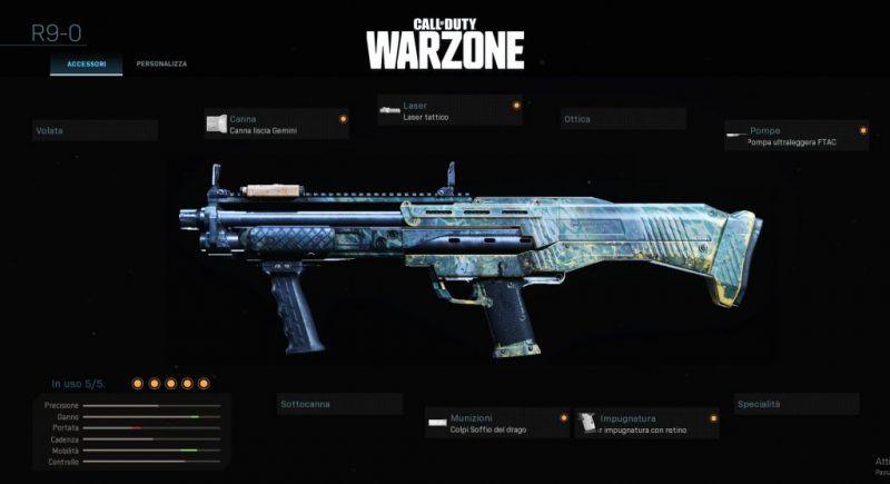 Warzone Miglior Setup R9-0 Multiplayer Cod