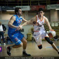 Basket Serie B quarta giornata, la Pallacanestro Viola al terzo posto del girone D2. Risultati e classifica