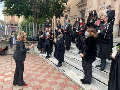 Flash Mob Tribunale Palmi