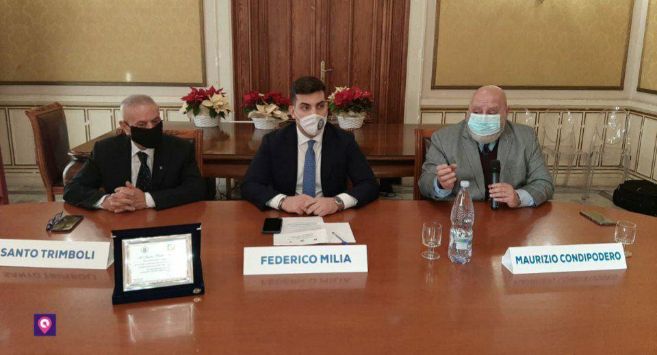 Maurizio Condipodero Santi Trimboli Federico Milia 1