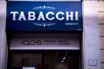 Tabacchi Bova IQOS Premium Partner 1