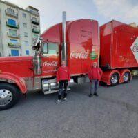 Il maestoso Coca Cola Truck arriva a Reggio Calabria: le principali tappe in città - FOTO