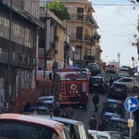 Reggio, panico alla struttura ASP. Evacuato l'edificio - FOTO