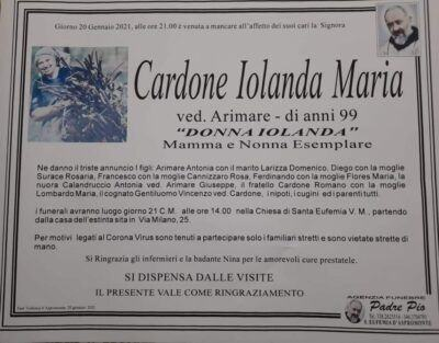 Donna Iolanda Manifesto