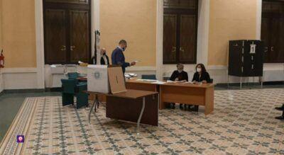 Elezioni Metropolitane Palazzo Alvaro