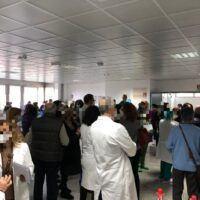 Seconda dose al GOM: l'attesa davanti al centro vaccini - FOTO