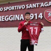 Calciomercato Reggina: ufficiale Elia Petrelli. La formula del trasferimento