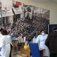 Vaccini a Palazzo Campanella, si continua nel weekend sotto lo sguardo di Maria - FOTO