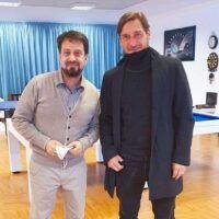 Reggina: Luca Gallo incontra Totti e Candela. Collaborazione in futuro?