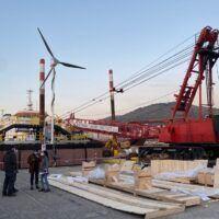 Reggio - Orgoglio NOEL, una piattaforma unica al mondo sulle acque dello Stretto - FOTO