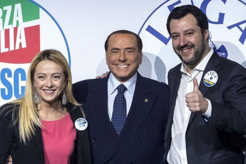 Giorgia Meloni Silvio Berlusconi Matteo Salvini