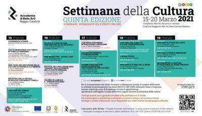 Programma Eventi Settimana Cultura Page 0001