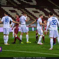 Calcio e covid: l'Empoli recupera solo tre calciatori. Venerdi in campo con la Reggiana