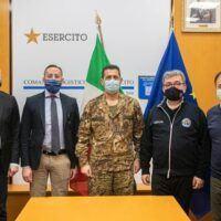 Spirlì incontra Figliuolo: presto 'mega' centri vaccini in Calabria