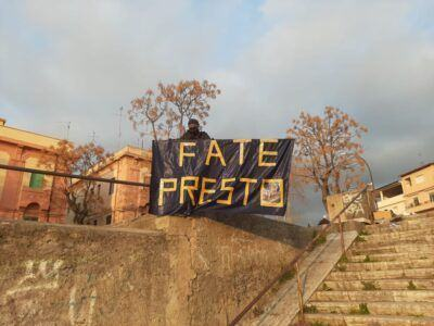 Manifestazione Piazza Del Popolo