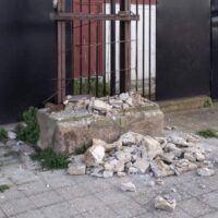 Reggio, offesa la storia del basket e della città. Vandalizzata la stele dedicata a Massimo Mazzetto