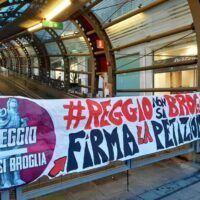 Comitato Reggio non si broglia insiste: 'Si tenga consiglio comunale aperto'