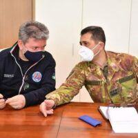 Figliuolo arriva in Calabria: al via il tour nei centri vaccinali - FOTO