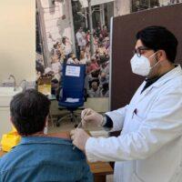 Reggio, primo step vaccini per il personale del liceo 'da Vinci' - FOTO