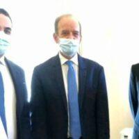Nuova vita per le Officine Joniche: Cannizzaro e Zimbone dal Ministro Carfagna