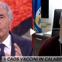 Vaccini in Calabria, Longo a La7 ammette: 'Ho disposto io che fossero vaccinati i dipendenti del Dipartimento'