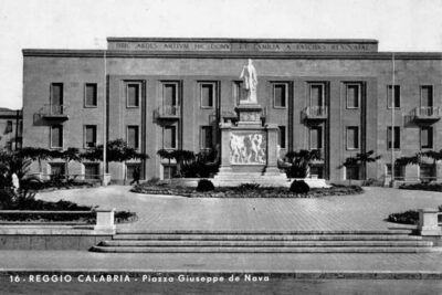 Piazza Giuseppe De Nava Reggio Calabria