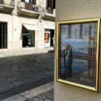Reggio, piccole opere d'arte abbelliscono il centro storico - FOTO