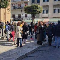 'Bianco è libertà', nuova protesta del comitato Commercianti Reggini
