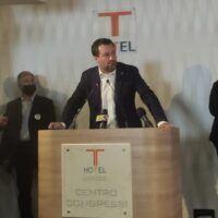 Regionali, parte la campagna Occhiuto. Salvini: 'La Calabria ha bisogno di una squadra'