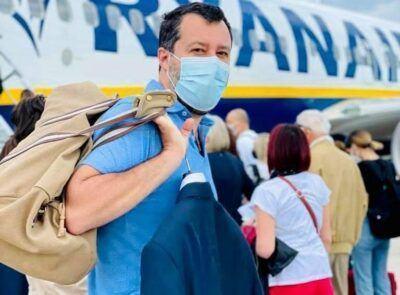 Matteo Salvini Viaggio Calabria