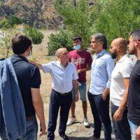 Incendi in tutta Reggio, Falcomatà: 'Chiederemo lo stato di calamità'