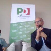 Regionali, Letta in Calabria spinge Bruni: 'La candidata migliore'