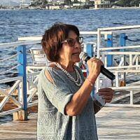 Regionali, Amalia Bruni a Reggio Calabria: 'Pronta a curare i mali della nostra terra'