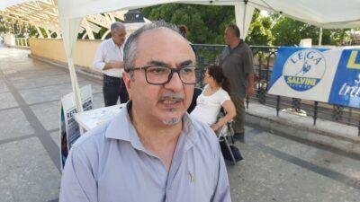 Referendum Giustizia Lega Gazebo Franco Recupero