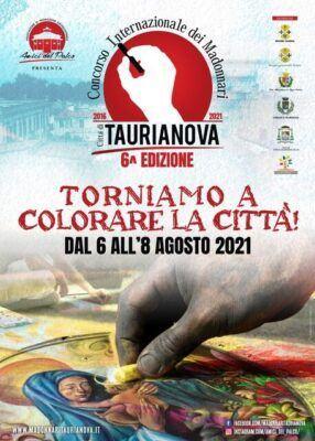 Locandina Madonnari Taurianova 2021