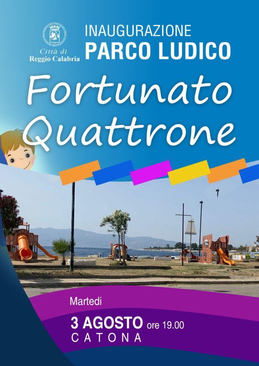Parco Ludico Inclusivo Fortunato Quattrone