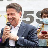 Regionali, Conte a Reggio Calabria: 'Non votate per gli amici degli amici. E' il momento di cambiare'